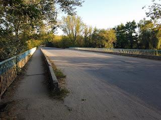 Браїлів. Міст через річку Рів
