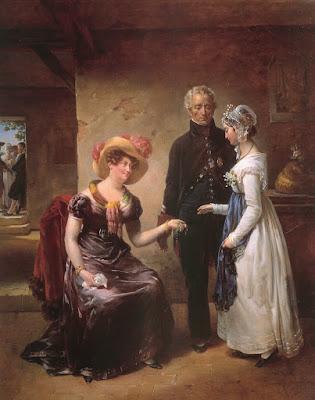 La Générosité de la Duchesse d'Angoulême, Antoinette Cécile Hortense Haudebourt-Lescot