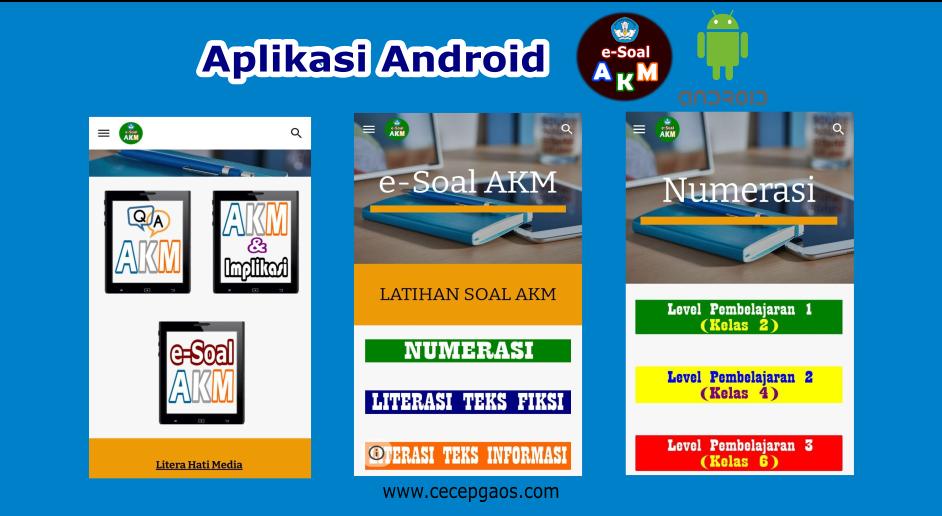 Aplikasi Android Akm Asesmen Kompetensi Minimum Gratis Cecepgaos Com