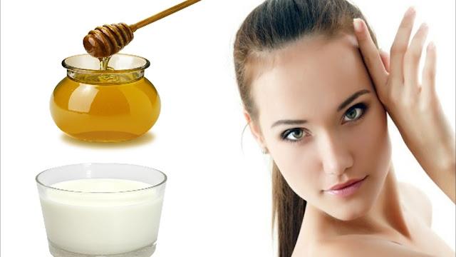 ماسك العسل لتبييض الوجه