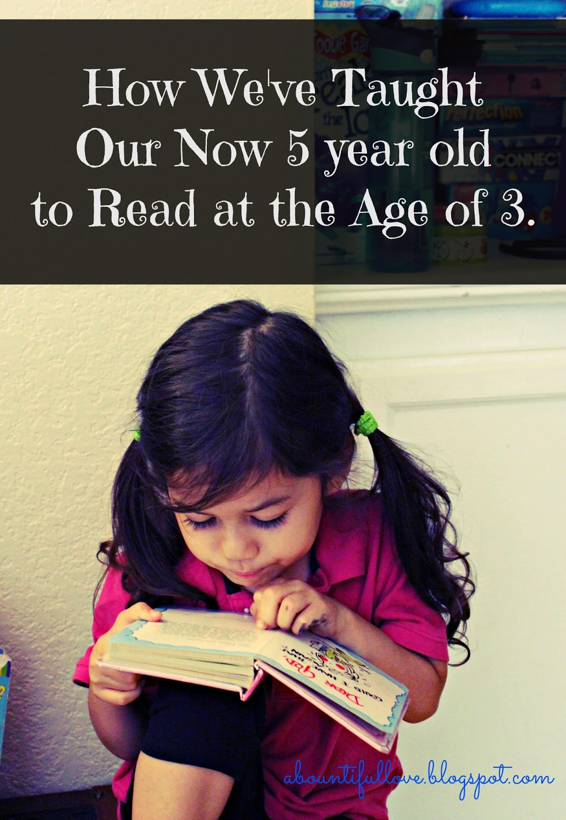 How We Ve Taught Our Now 5 Year Old To Read At The Age Of