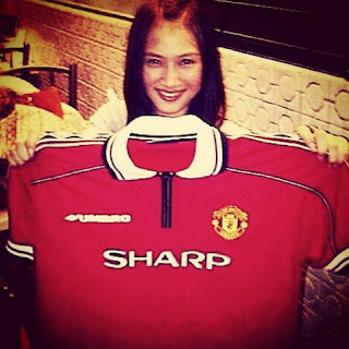 Melody JKT 48 Manchester United