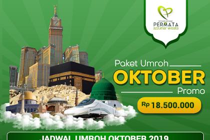 Biaya Paket Umroh Promo Oktober 2019