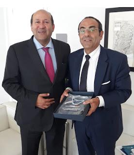 L'ambasciatore dell'Egitto in visita all'Adsp del Mare di Sardegna