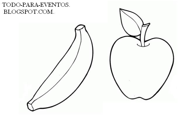 Moldes De Frutas Y Verduras En Foami Imagui