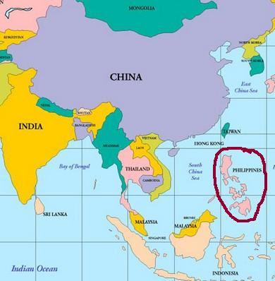 Filipinler Nerede