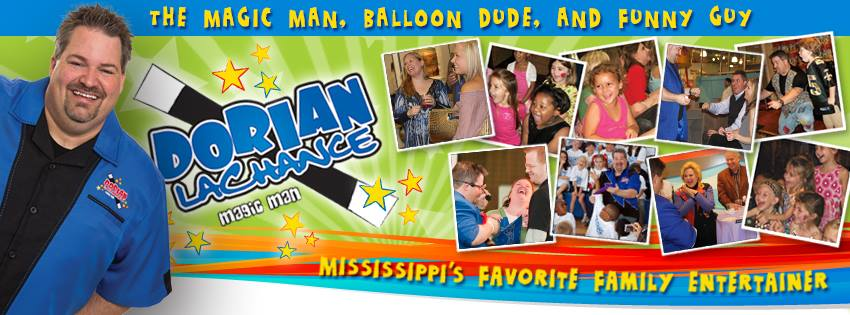 Dorian LaChance, Magician in Madison Mississippi