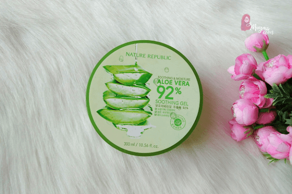 Review natural republic aloe vera