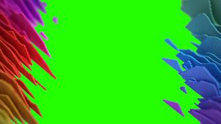 Music_Amplitude Level_Meter_Green Screen_4K