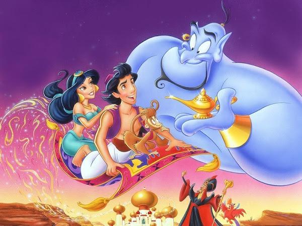 E eis que eu vi Aladdin - SAIBA O QUE ACHEI