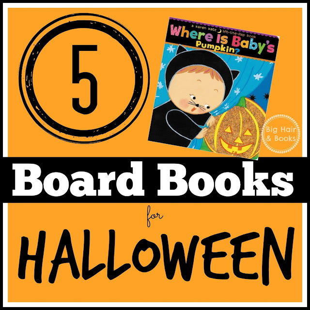 5 Board Books for Halloween #boardbooks #toddlers #picturebooks