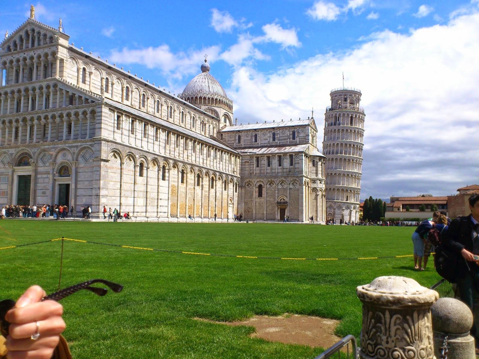 Torre e Catedral de Pisa - Itália