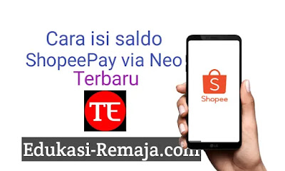 Berikut ini adalah cara pengisian atau topup saldo shopeepay shopee terbaru  Cara Topup Shopee pay dengan Neo+  Menggunakan neo, kalian bisa melakukan pengisian saldo shopee pay dengan cara dibawah ini :