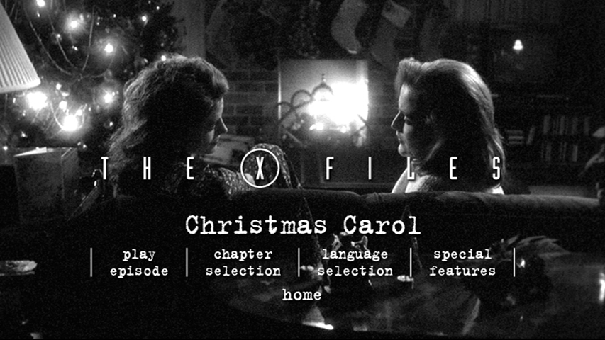 X Files Christmas Carol.I Want To Review Case 05 File 06 Christmas Carol