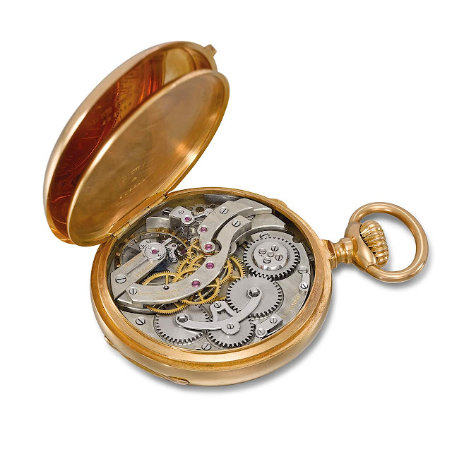 The personal personal watch of Patek Philippe's co-founder Jean-Adrien Philippe (1815-1894)