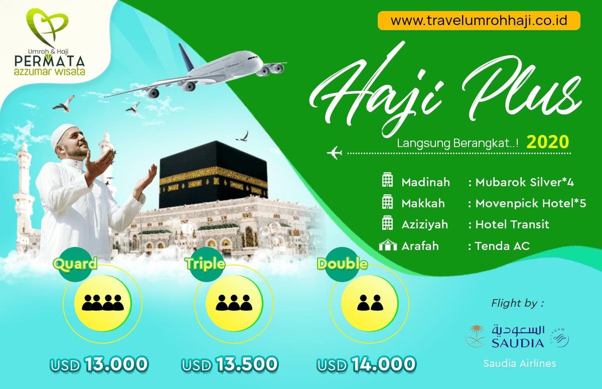 Paket Haji Plus Langsung Berangkat Tahun 2021 Biaya Murah