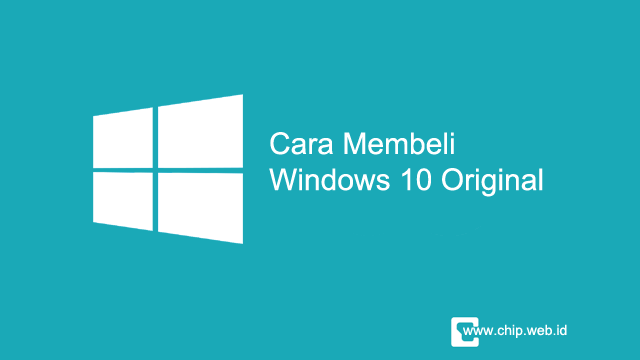 Cara Beli Windows 10 Original