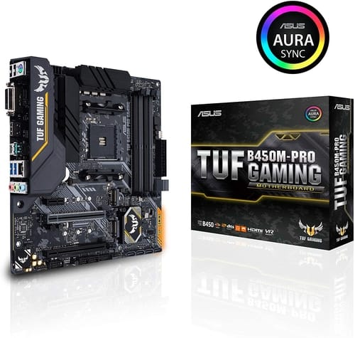Review Asus TUF B450M-Pro Gaming Motherboard