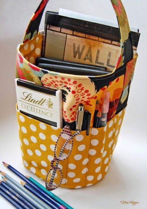 Quality Sewing Tutorials Bucket Bag Tutorial From Elvie