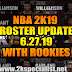 NBA 2K19 ROSTER UPDATE 6.27.19 WITH ROOKIES [FOR 2K19]