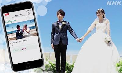 Casamentos via internet no Japão