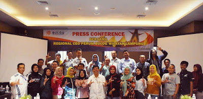 Bulog Lampung Serap Hasil Panen Petani Lokal