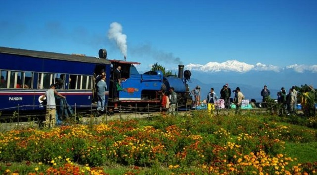 "Darjeeling Himalayan Railway, also known as the ""Toy Train"", is listed as a World Heritage Site."