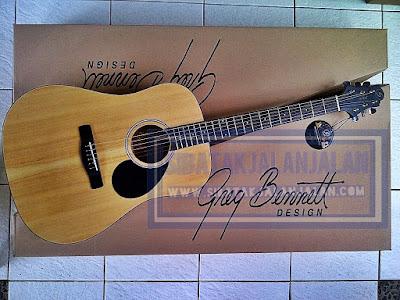 gitar akustik greg bennett