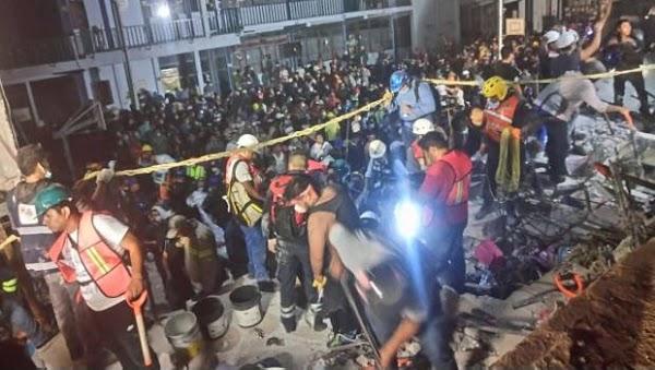 Hay 20 niños fallecidos y 30 desaparecidos en derrumbe de escuela Rebsamen: Peña Nieto