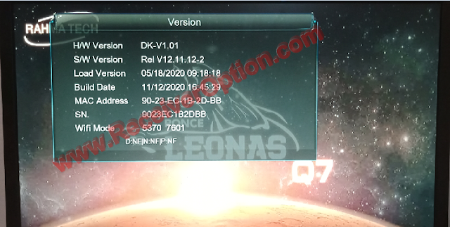 PONCE LEONAS Q7 1507G 1G 8M NEW SOFTWARE WITH FIRE SHARE OPTION