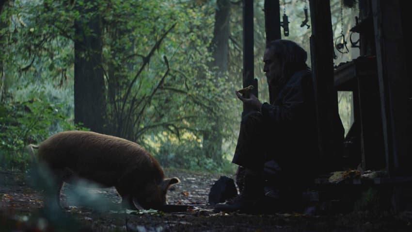 Хоррор-триллер «Свинья» с Николасом Кейджем выйдет в июле - официальный постер внутри