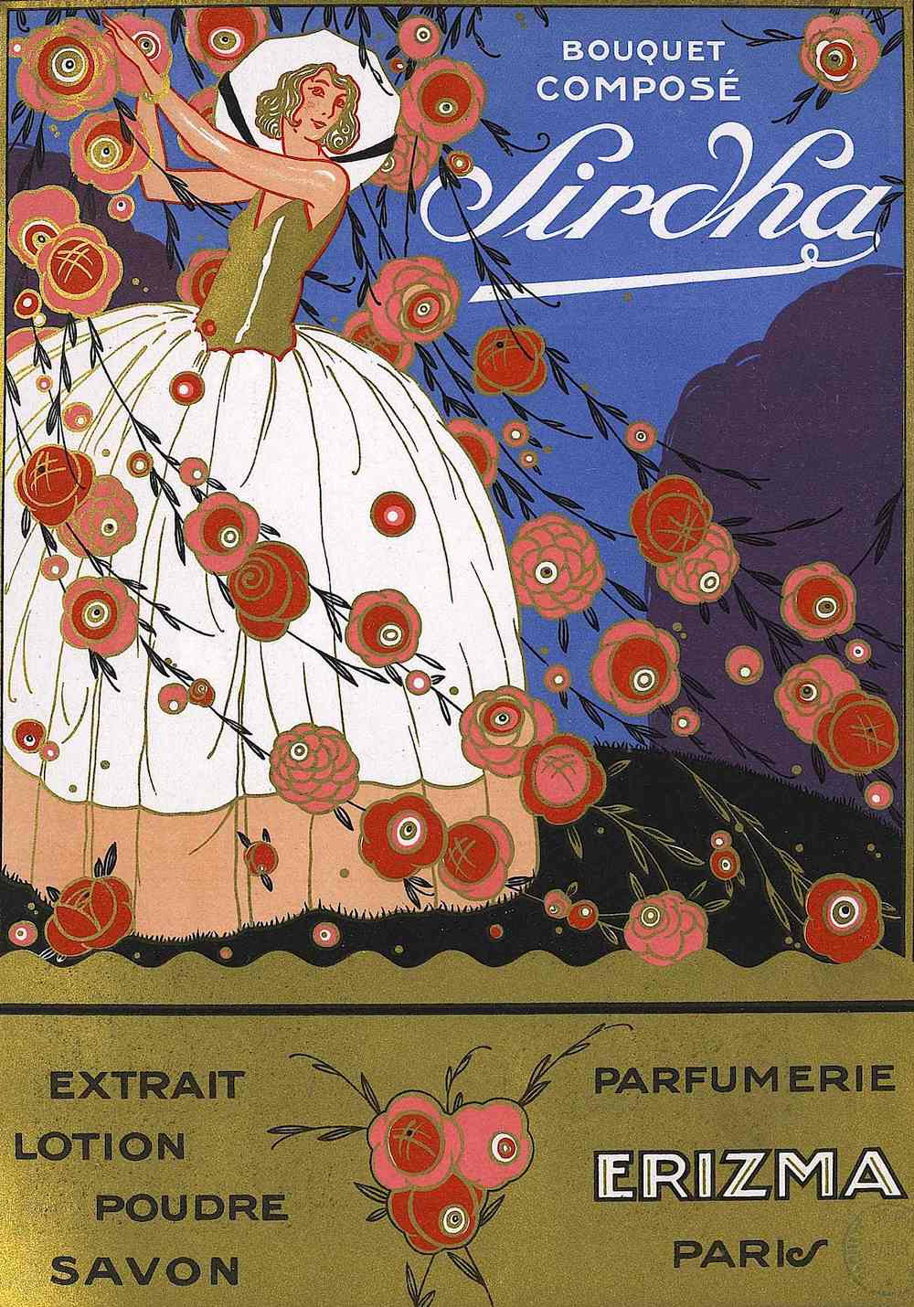 a 1925 Sirdha Fragrance advertisement