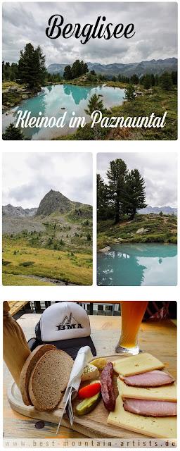 Wanderung von Mathon bei Ischgl zum traumhaften Berglisee - Paznauntal Tirol Wandern
