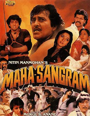 Maha Sangram 1990 Hindi 2CD DVDRip 1.5GB ESub