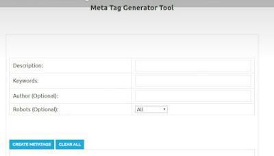 Blogger me meta tag description code kaise add karen, blogger meta tag generator
