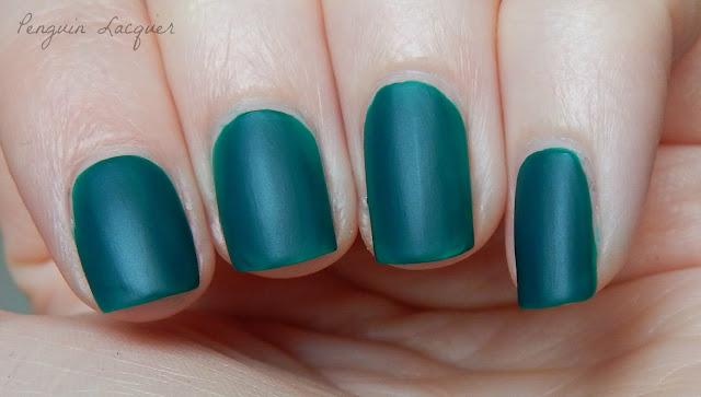 flormar matte elegant green nah