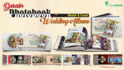 Desain Photobook Wedding Album