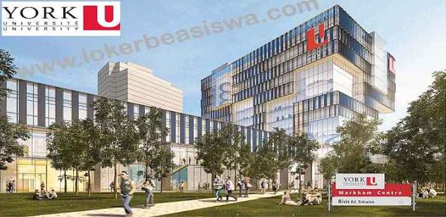 Beaiswa S1 York University Kanada 2018