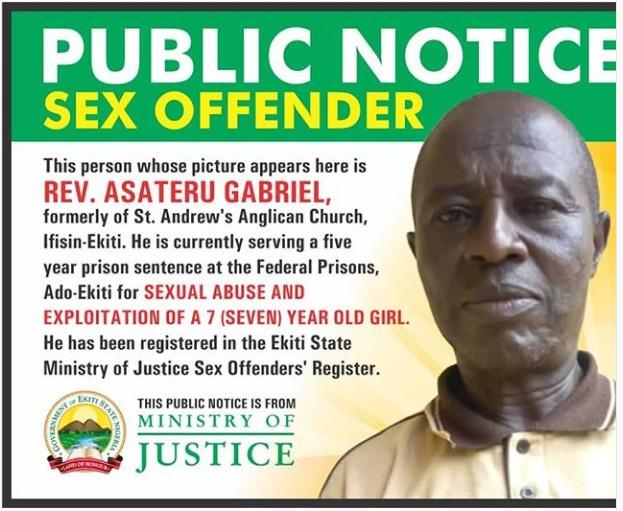 Ekiti begins public naming, shaming of sexual offenders