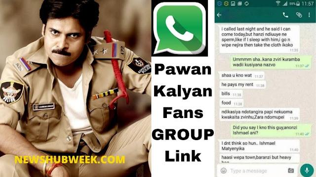 Join 15+ Pawan Kalyan Fans Whatsapp Group Links New Update