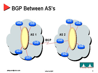 Gambar 2. Model BGP