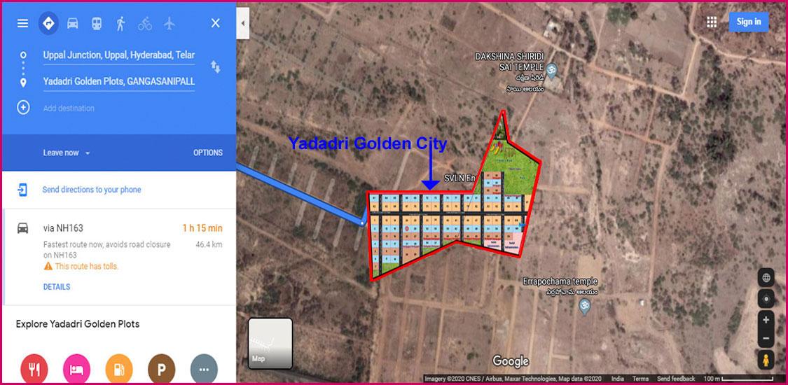 Survey No.197 Gangasanipally, Raigiri Village