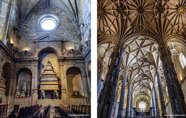 Túmulo do rei D. Sebastião no Mosteiro dos Jerónimos, Lisboa