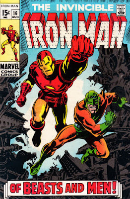 Iron Man #16, the Unicorn