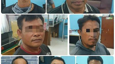 Lakukan Pemerasan, 7 Anggota Ormas di Sergai Kena OTT Polres Tebingtinggi