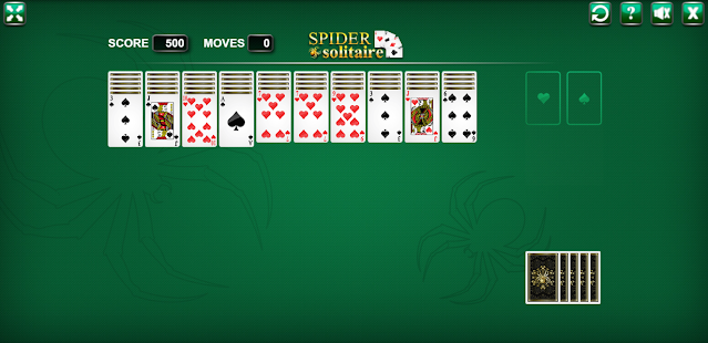 Play Free Spider Solitaire Game