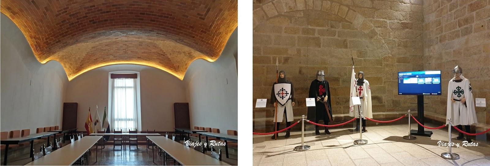 Dependencias del conventual de San Benito, Alcántara