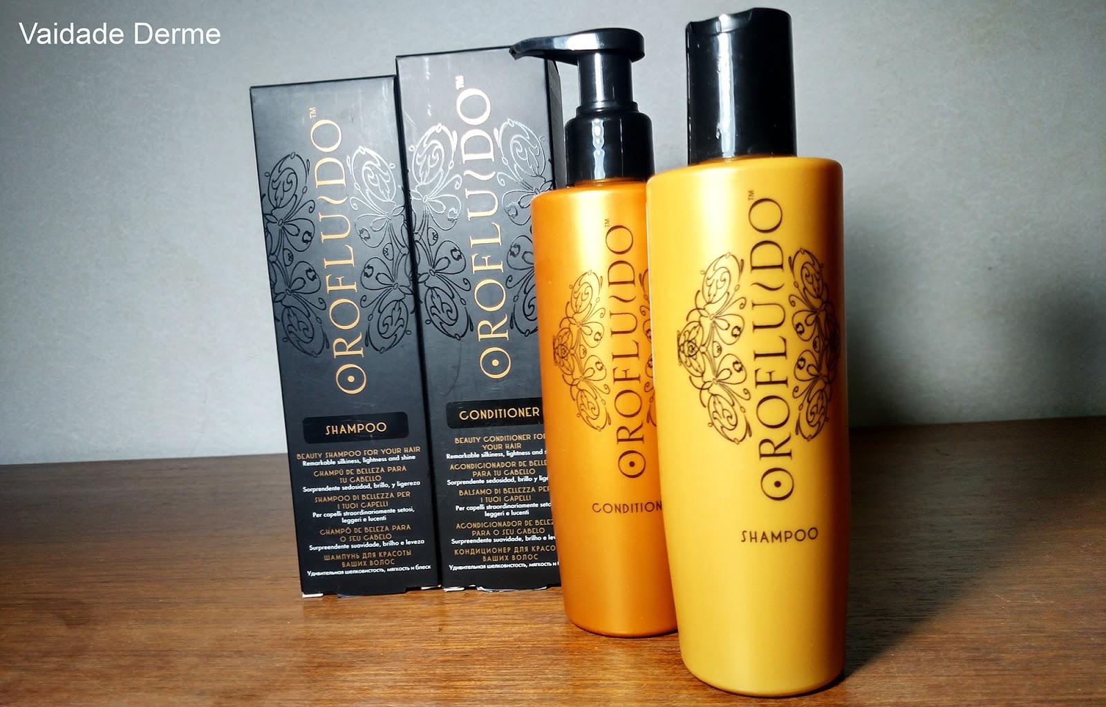 Orofluido Shampoo e Condicionador Óleo de Argan
