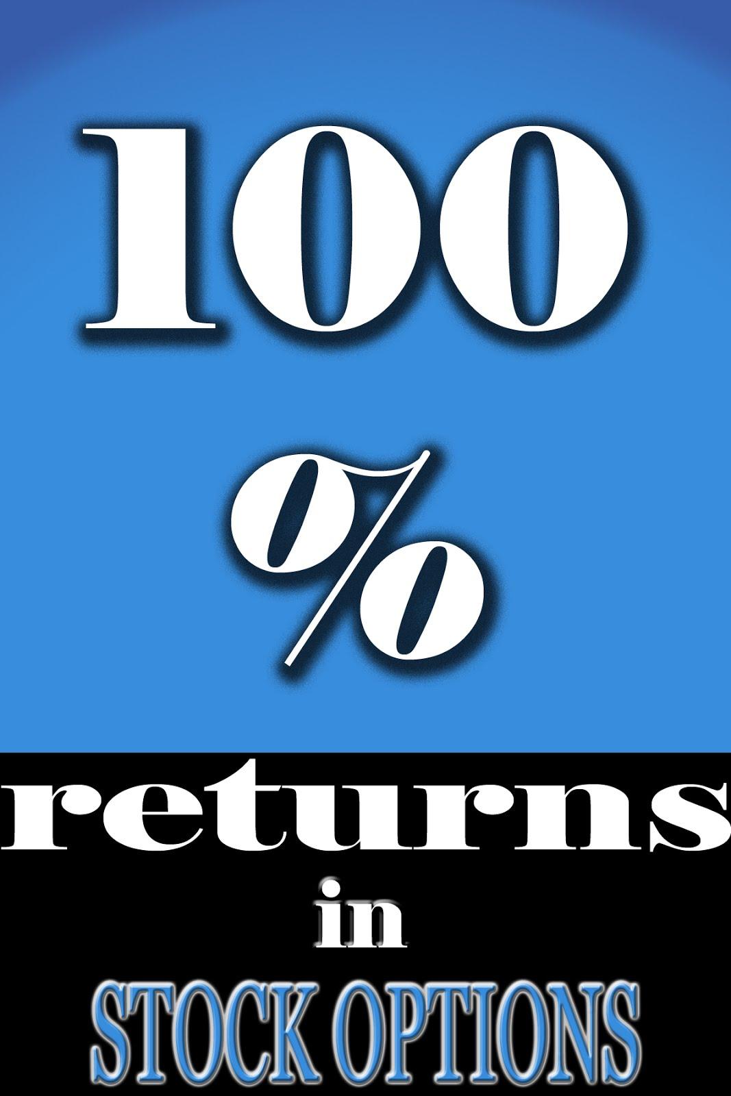 Stock options returns
