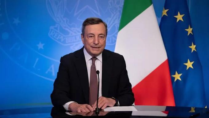 """Draghi all'Onu: """"Grazie ai vaccini possiamo guardare al futuro con ottimismo"""""""
